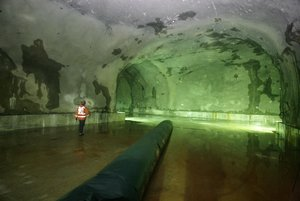 Jurong Rock Cavern(JRC)underground oil storage.